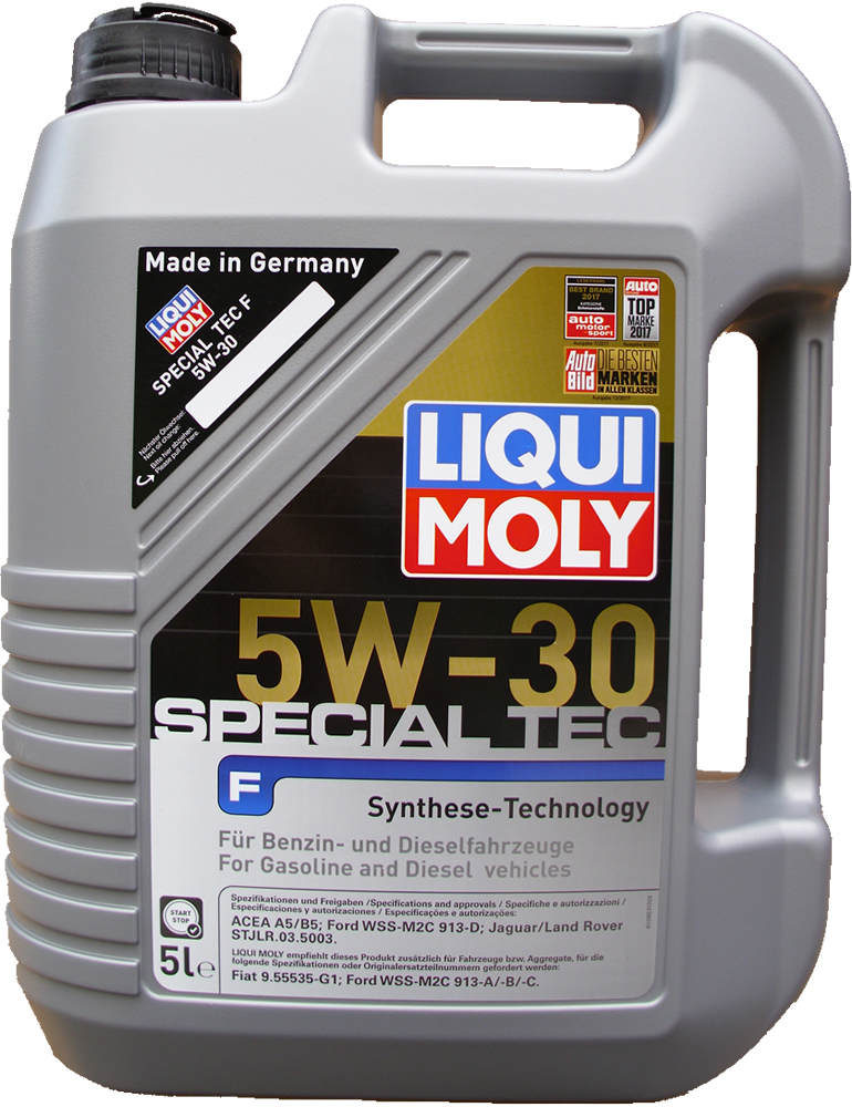 1 x 5l liqui moly 5w 30 special tec f ford wss m2c 913 d. Black Bedroom Furniture Sets. Home Design Ideas
