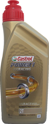 1 X 1 Liter Castrol 2T Power1 Racing