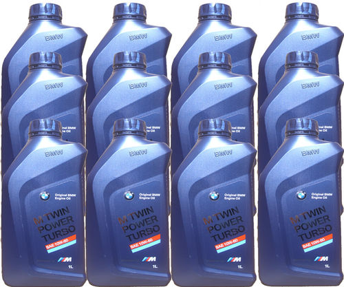 12 X 1 Liter Original BMW 10W-60 M Twin Power