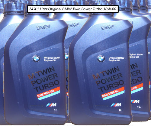 24 X 1 Liter Original BMW 10W-60 M Twin Power