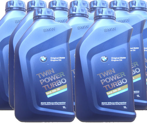10 X 1 Liter Original BMW 0W-30 Twin Power Turbo - BMW Longlife-12 FE