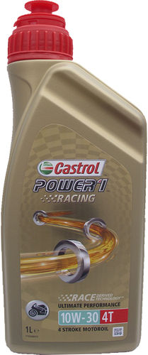 1 X 1 Liter Castrol Power1 Racing 10W-30 4T