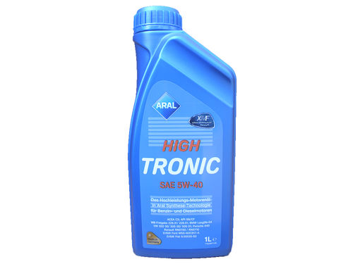 1 Liter Aral 5W-40 High Tronic