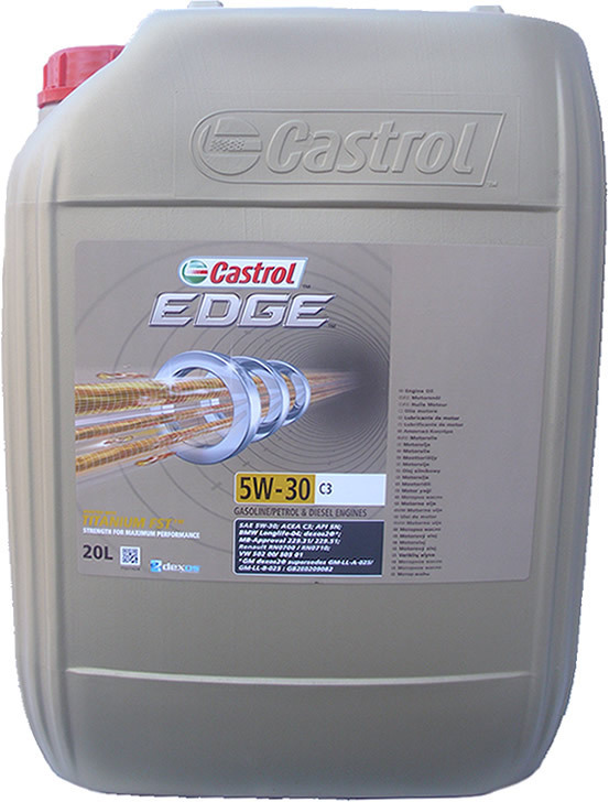 20 liter castrol edge titanium 5w 30 c3 1 x 20l. Black Bedroom Furniture Sets. Home Design Ideas
