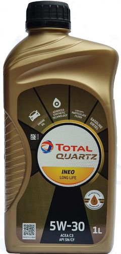 1 X 1 Liter Total Quartz 5W-30 Ineo Longlife - VW 504 00/ 507 00