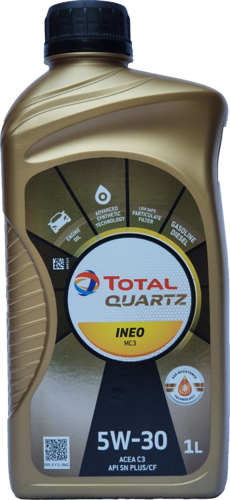 1 X 1 Liter Total 5W-30 Quartz INEO MC3