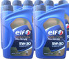 8 X 1 Liter ELF 5W-30 Evolution Full-Tech FE - Renault RN0720
