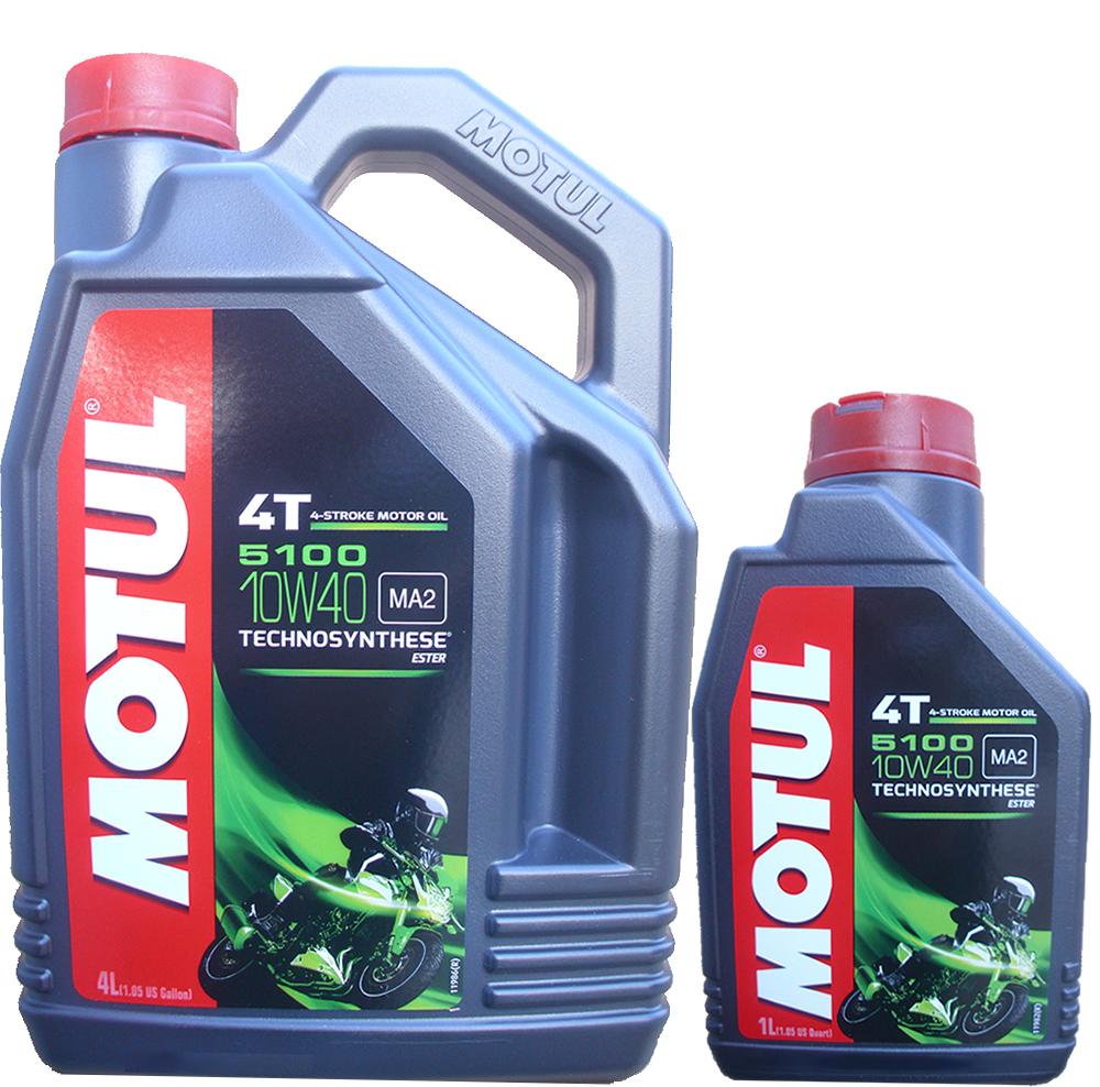 Motoröl Motul 10W-40 5100 4L+1L