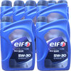 8 X 1 Liter ELF 5W-30 EVOLUTION 900 SXR - RENAULT RN0700