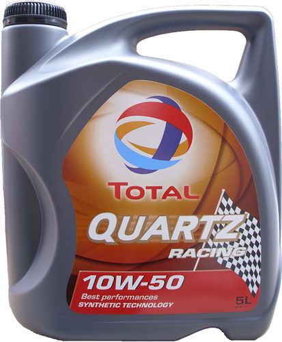 1 X 5 Liter Total 10W-50 Quartz Racing - ACEA A3/B4