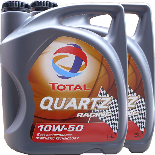 2 X 5L = 10 Liter Total 10W-50 Quartz Racing - ACEA A3/B4