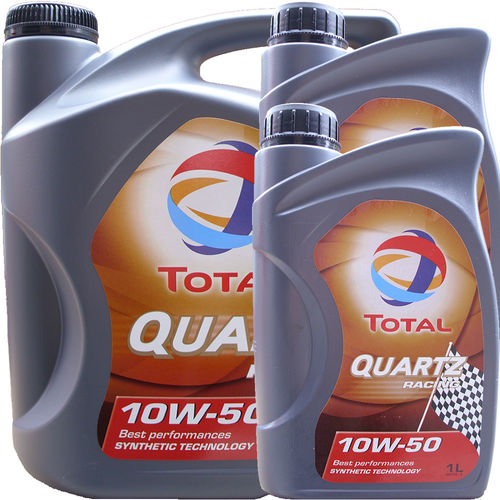 5L + 2L = 7 Liter Total 10W-50 Quartz Racing - ACEA A3/B4
