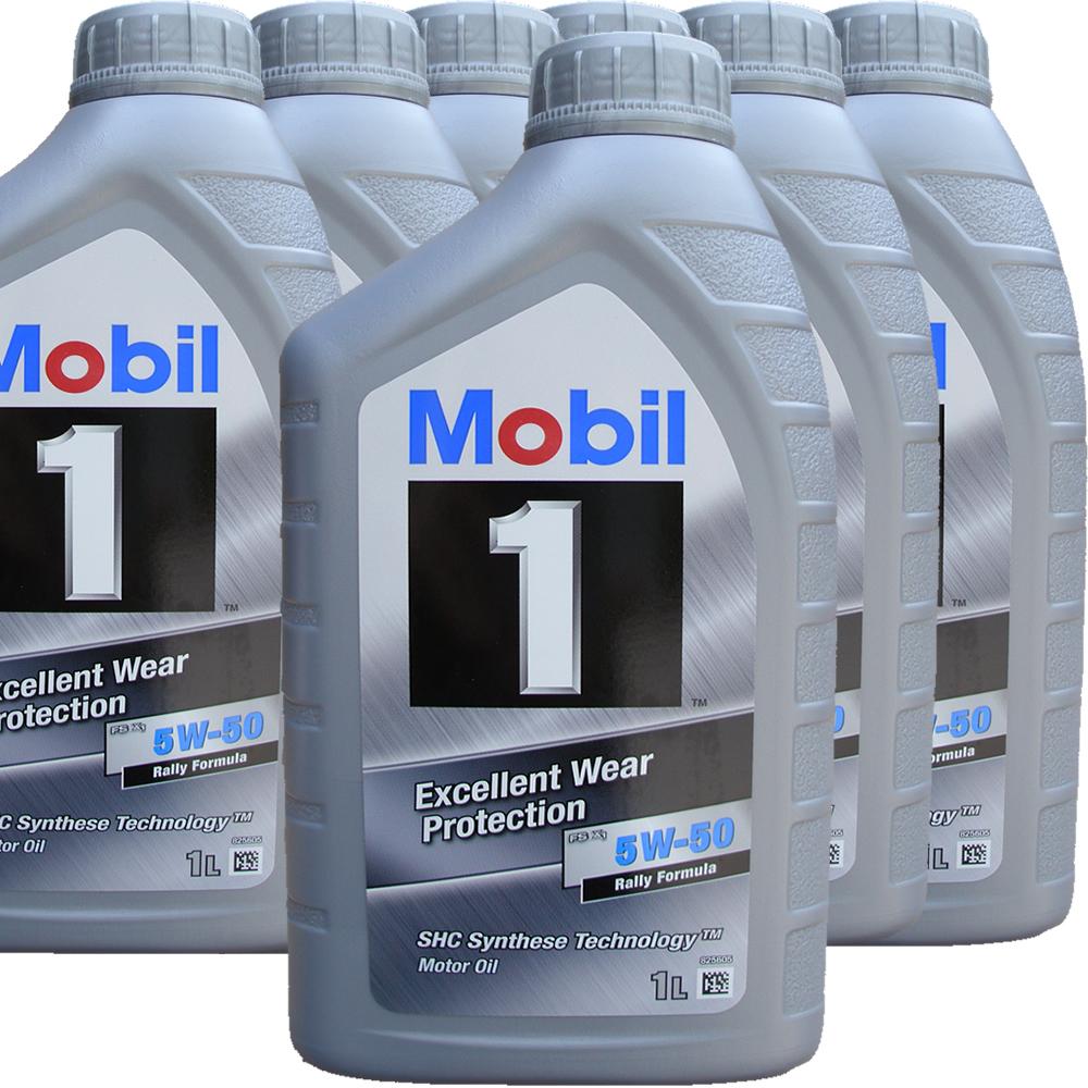 7 x 1 liter mobil 5w 50 fs x1 rally formula mobil 1. Black Bedroom Furniture Sets. Home Design Ideas