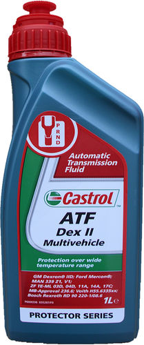 1 X 1 Liter Castrol ATF Dex II Multivehicle - Automatik Getriebeöl