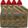 4 X 1 Liter Castrol 10W-40 4T Power1 Racing 4-Takt