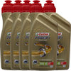 5 X 1 Liter Castrol 10W-40 4T Power1 Racing 4-Takt