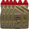 6 X 1 Liter Castrol 10W-40 4T Power1 Racing 4-Takt