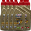7 X 1 Liter Castrol 10W-40 4T Power1 Racing 4-Takt