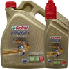 4L + (4X1L) = 8 Liter Castrol 10W-40 4T Power1 Racing 4-Takt