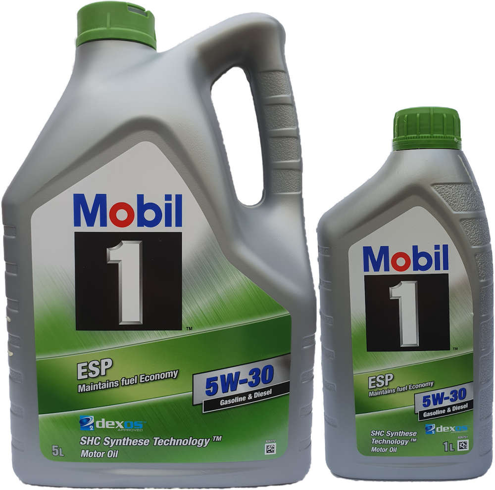 Whats The Difference Between 5w20 And 5w30 >> Mobil 1 5w 30 Esp 5 1l
