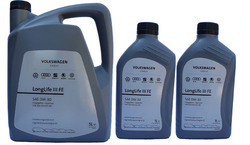 VW Original 0W-30 Longlife III FE VW 50400 50700 5+2 Liter